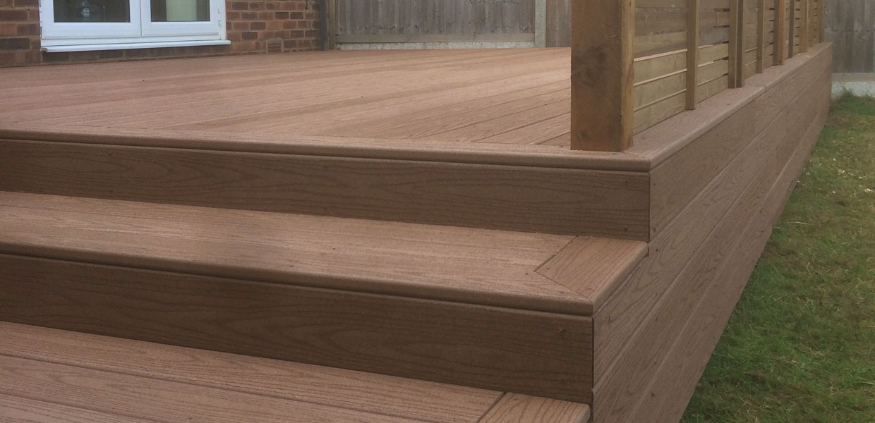Decking Hertford Essex Hertfordshire